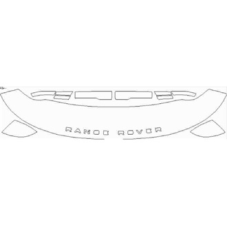 2018- Land Rover Range Rover SVAutobiography Dynamic Partial Hood pre cut kit