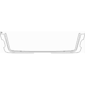 2018- Land Rover Range Rover SVO Design Package Grille pre cut kit