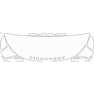 2020- Land Rover Discovery Landmark Edition Partial Hood pre cut kit