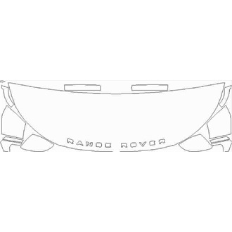 2020- Land Rover Range Rover Velar SVAutobiography Dynamic Edition Partial Hood pre cut kit