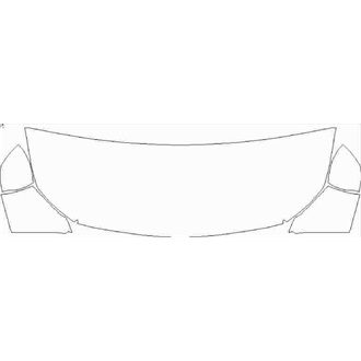 2021- Mercedes A Class AMG A35 Hatchback Partial Hood pre cut kit