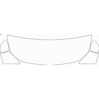 2021- Mercedes A Class AMG A35 Saloon Partial Hood pre cut kit