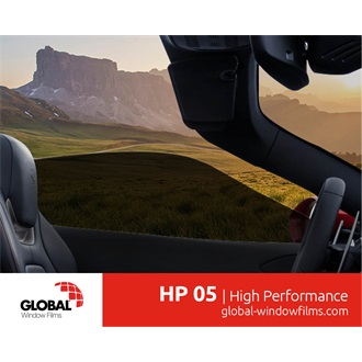 Global HP05 extruded-metallized automotive film 1,52X30M