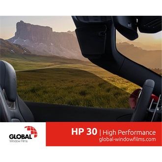 Global HP30 extruded-metallized automotive film 0,76X30M