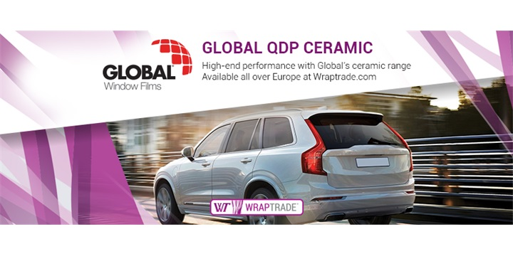 Global QDP Ceramic automotive window films