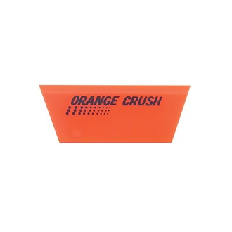 Fusion Orange Crush Squeegee Blade, 12,5 cm long, durometer