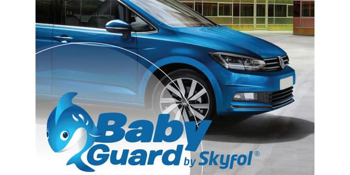 Skyfol BabyGuard, the perfect heat protective solution developed for kids