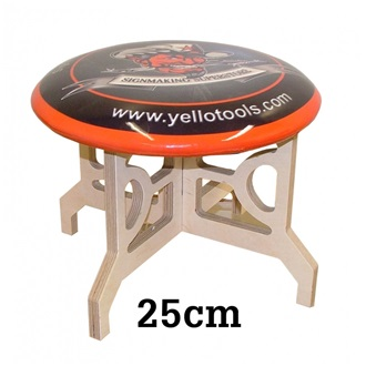 YellowTools LowRider extension chair, 25 cm